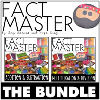 Fact Master BUNDLE:  Addition, Subtraction, Multiplication