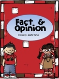 Fact & Opinion ~ A Center Activity