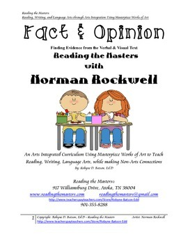 Fact & Opinion with Norman Rockwell