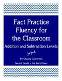 Fact Practice Fluency For the Classroom-Addition and Subtraction