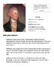 Fact Sheets for the Founding Fathers of the American Revolution
