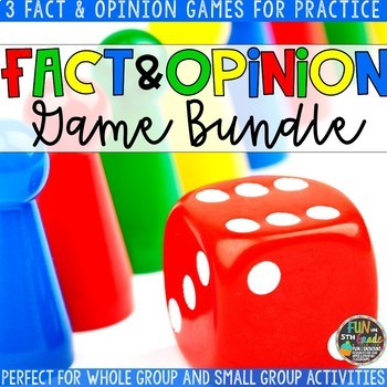 Fact and Opinion Game Bundle