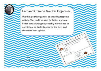 Fact and Opinion Graphic Organiser