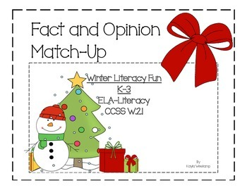 Fact and Opinion Match-Up
