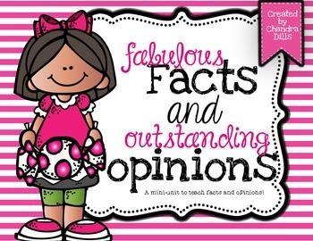 Fact and Opinion Mini Unit