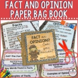 Fact and Opinion Paper Bag Mini Book Project