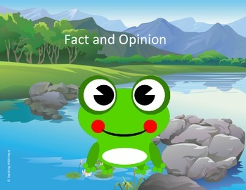 Fact and Opinion Scoot Activity/Task Cards (Lower Elementary)
