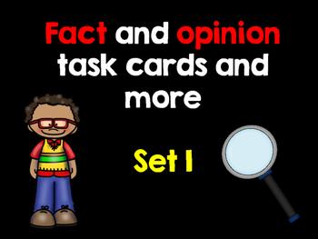 Fact and Opinion Set 1 - English