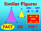 Fact or Fib Similar Figures - Powerpoint Corresponding Sid