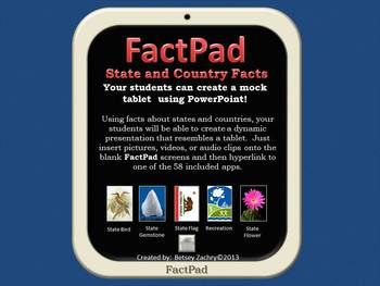 FactPad: States and Countries Facts PowerPoint Template