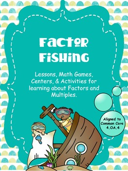Factors, Multiples, Prime & Composite Numbers - Factor Fishing