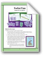 Factor Fun (Multiplication)