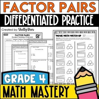 Factor Pairs