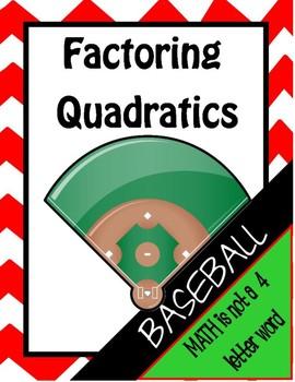 Factoring Baseball Review Game