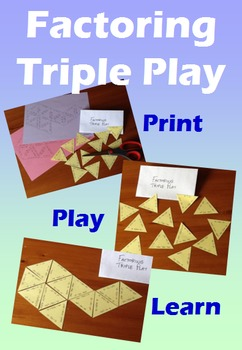 Factoring Triple Play - A Triangular Matching Game