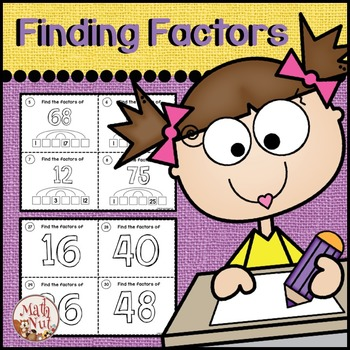 Factors and Multiples: Finding the Factors of Numbers less