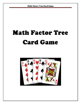 Factors Math Center Game