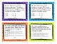 Factors, Multiples, Prime, Composite Task Cards Fourth Gra