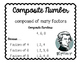 Factors, Multiples, Prime, and Composite Posters