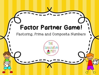 Factors Partner Game
