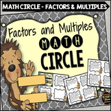 Factors and Multiples Math Circle