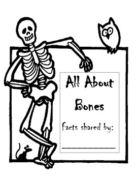 Facts about bones mini book