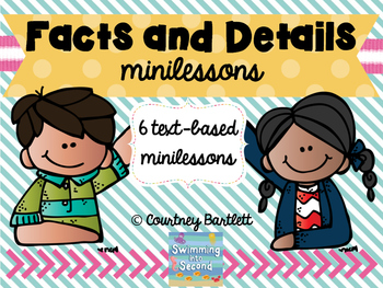 Facts and Details minilesson pack
