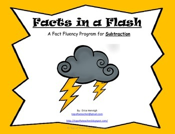 Facts in a Flash!  A Fact Fluency Program for Mastering Su