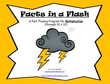 Facts in a Flash!  A Fact Fluency Program to Master Multip