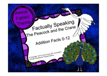 Factually Speaking Aesop The Peacock and the Crane