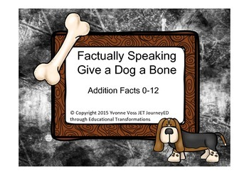 Factually Speaking Dog and Bone