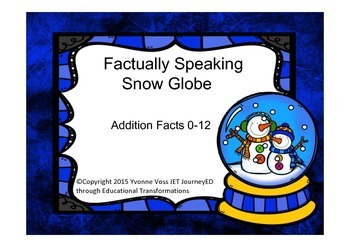 Factually Speaking Snow Globe