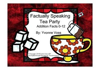 Factually Speaking Tea Party