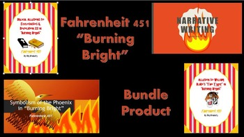 """Fahrenheit 451 """"Burning Bright"""" Bundle Product!"""