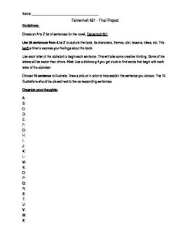 Fahrenheit 451 - Final Project