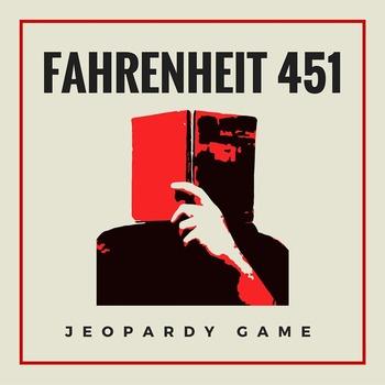 Fahrenheit 451 Novel Review Game
