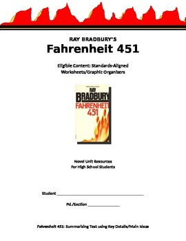 Fahrenheit 451 - Standards-Aligned Skills (Novel Unit Resource)