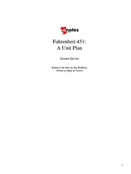 Fahrenheit 451 Unit Lesson Plan