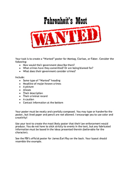 Fahrenheit's Most Wanted