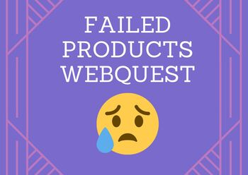 Failed Products - Great marketing homework