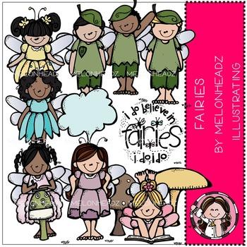 Melonheadz: Fairies clip art - COMBO PACK