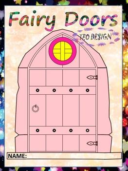Fairy Door - Classroom Decor  - Clipart - Personal or Comm