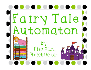 STEM Challenge- Fairy Tale Automaton