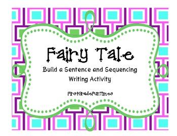 Cut and Glue Sentences - Fairy Tale
