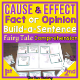 Cause and Effect, Fact or Opinion Fairy Tale Bundle, Gr. 1- 3