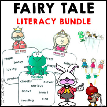 Fairy Tale Bundle reading, comprehension, role play, story