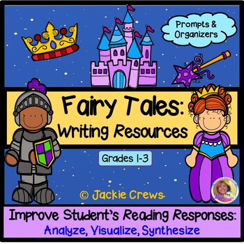 Fairy Tales Extra Resources: Character Webs, Journals and