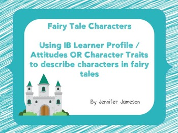 Fairy Tale Characters and Character Traits