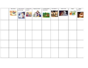 Fairy Tale Checklist