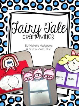 Fairytale Craftivities {FREEBIE}
